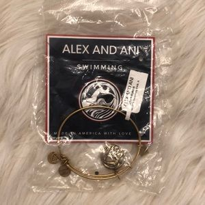 Alex and Ani swimming bracelet
